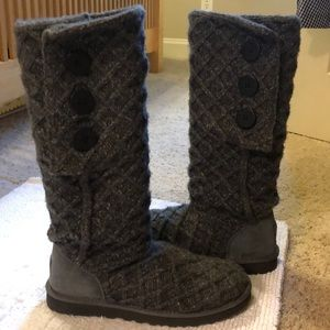 Ugg Grey Classic Cardy Boot